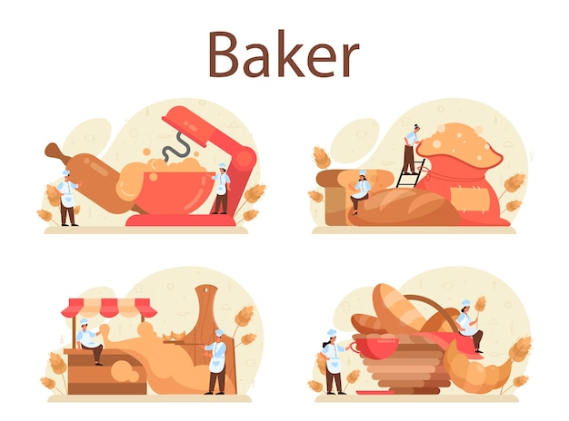 Baker concept set.