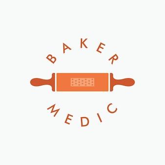 Baker medic logo-design