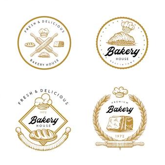 Bakery logos pack