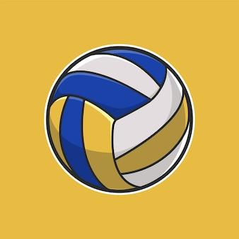 Ball volly illustration