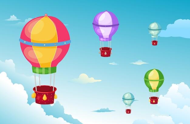 Ballon in den himmel
