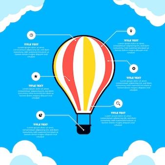 Ballon infografik