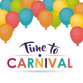 Ballons karneval festival