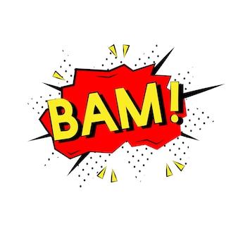 Bam-comic-stil