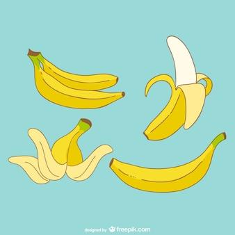 Bananen vektor