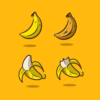 Bananenillustration