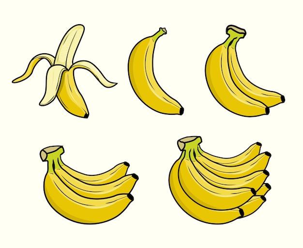 Bananenset-sammlungen