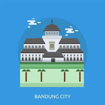 Bandung hintergrund design