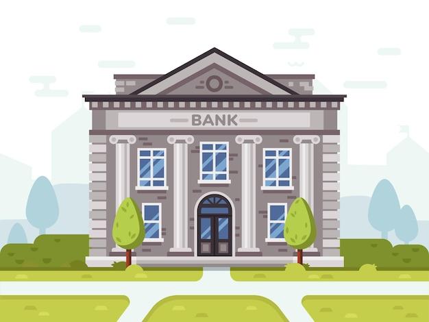 Bank- oder regierungsgebäude