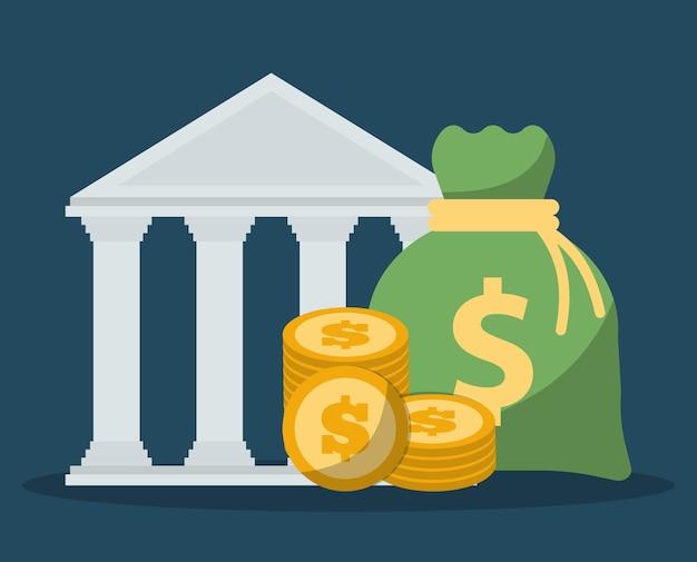 Banking verwandte symbole bild