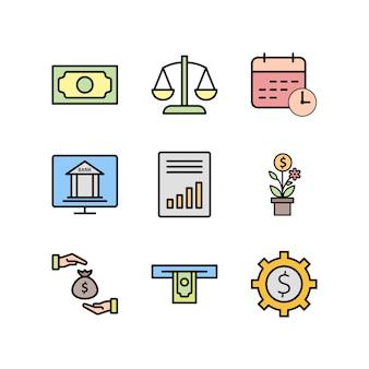 Bankwesen-ikonen