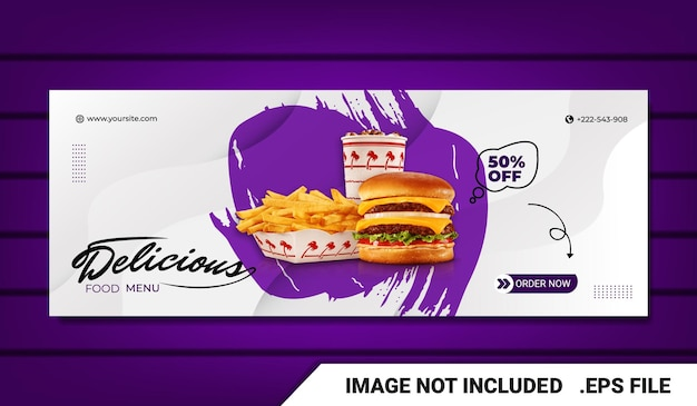 Banner-burger-facebook-cover-vorlage