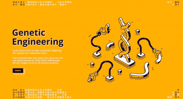 Banner der gentechnik