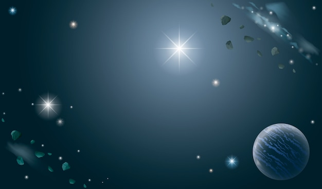 Banner des universums