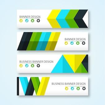 Banner-design-kollektion
