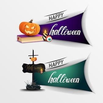 Banner fröhliches halloween