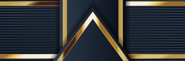 Banner geometrischen abstrakten hintergrund mit textur hell