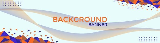 Banner-hintergrundvorlagen für mehrere zwecke