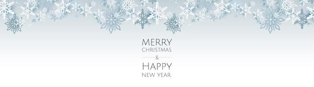 Banner mit weihnachtskugeln und sternen