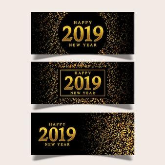 Banner Neujahr Hintergrund