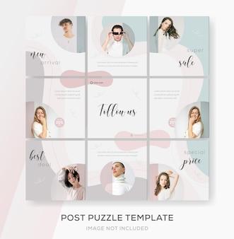 Banner puzzle feed instagram verkauf