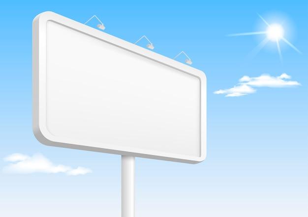 Banner-vorlage mit hintergrundbeleuchtung