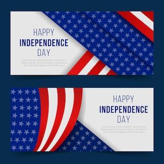 Banner zum unabhängigkeitstag