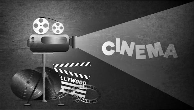 Bannerdesign für kino oder theater