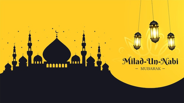 Bannerdesign für milad un nabi