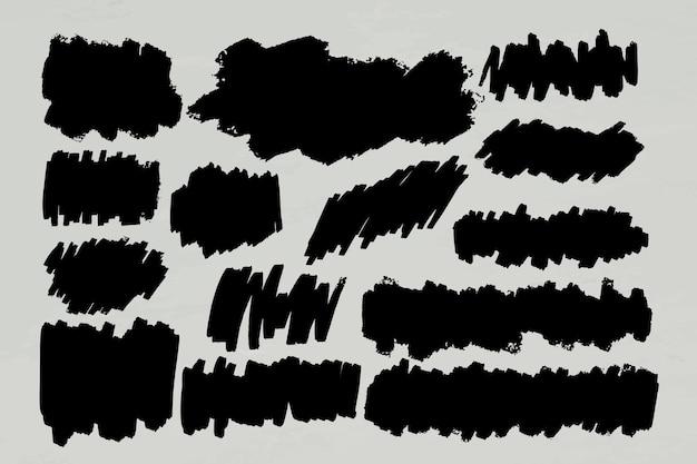 Bannerrahmenset mit schwarzem marker