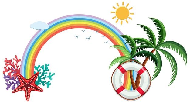 Bannervorlage zum thema sommer