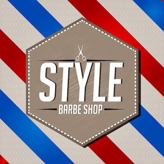 Barbe shop hintergrund