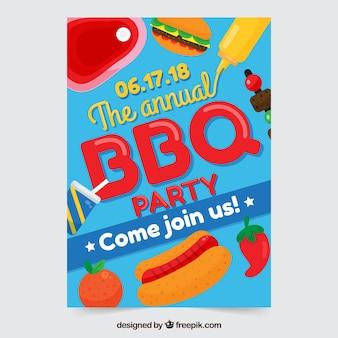 Barbecue einladung vorlage
