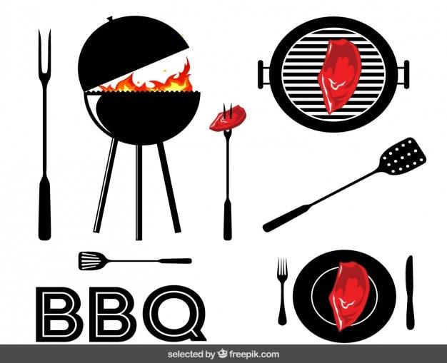 Barbecue elemente