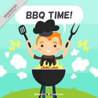 Barbecue hintergrund