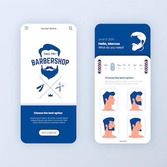 Barber shop buchungs-app