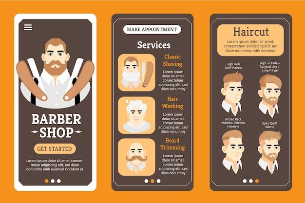 Barber shop buchungs-app