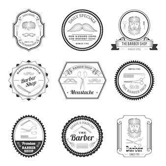 Barber shop embleme
