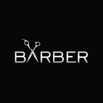 Barbershop-logo-design-vorlage