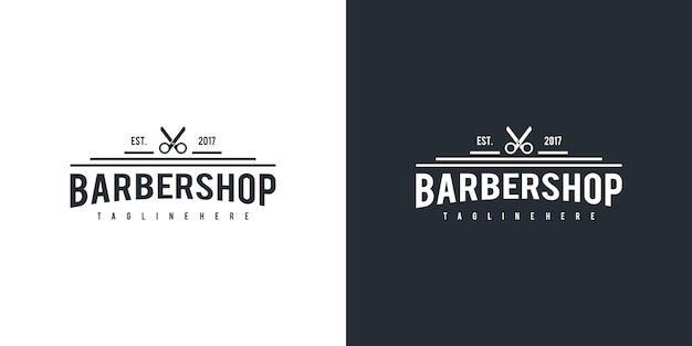 Barbershop logo design