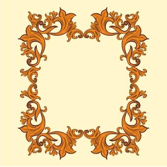 Barockrahmen dekor