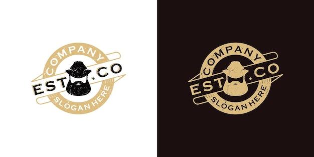 Bartmann logo vintage inspiration