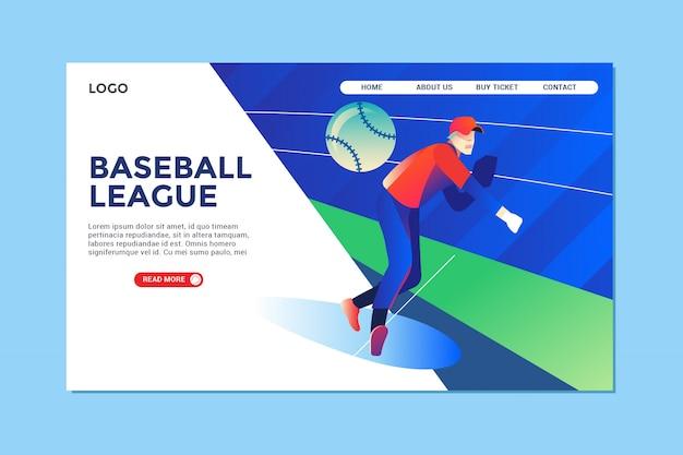 Baseball-landingpage