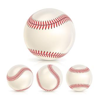 Baseball lederball