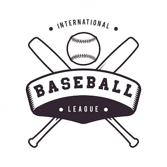 Baseball-logo-vorlage design