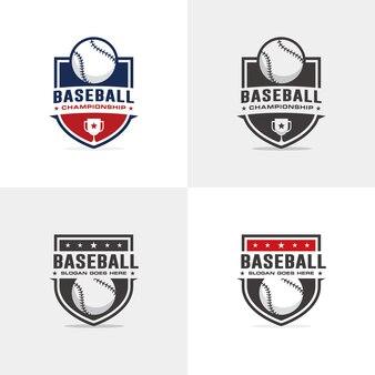 Baseball Logo Vorlage