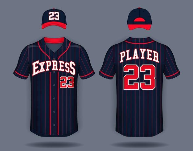 Baseball-t-shirt-spott oben.