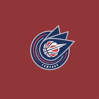 Basketball-logo unternehmen