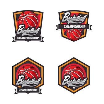 Basketball logos, american logo sport