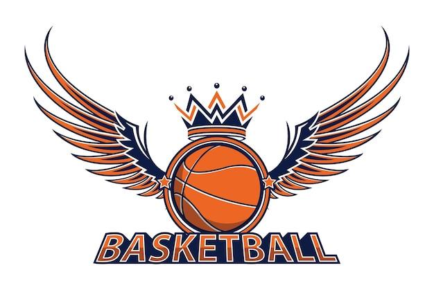 Basketball-meisterschaftslogo